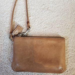 Small Coach wristlet/wallet